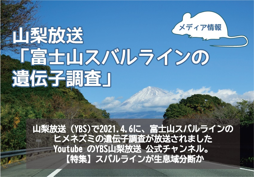 富士山スバルラインの遺伝子調査